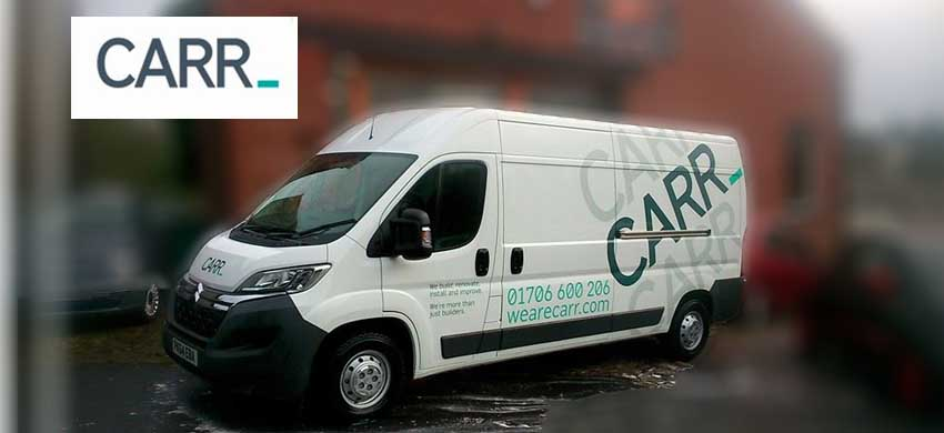 new van for carr builders