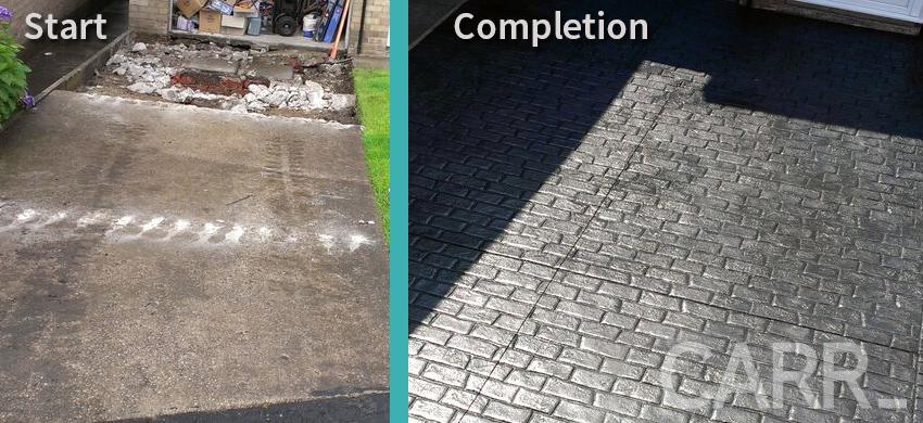 blog - Imprinted driveways